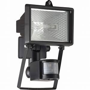 projecteur a fixer a detection exterieur tanko r7s 118 mm With carrelage adhesif salle de bain avec eclairage led a detecteur de mouvement