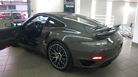 porsche agate grey interior ordering 2015 tts with agate gray yellow interior crazy
