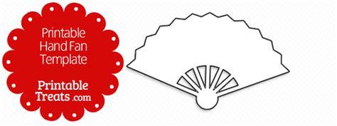 printable hand fan template printable treatscom