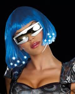 Sexy Space Costume Wig