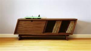 Record Cabinet 1950u0027s 60u0027s Vinyl Record Cabinet