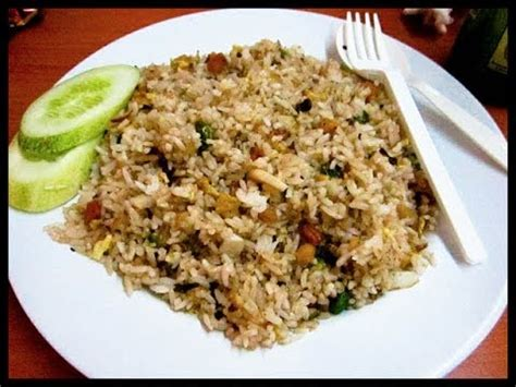 membuat nasi goreng sederhana youtube