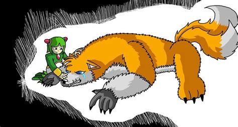 Werefox Tails Human Cosmo 2 By Allengutairhero On Deviantart