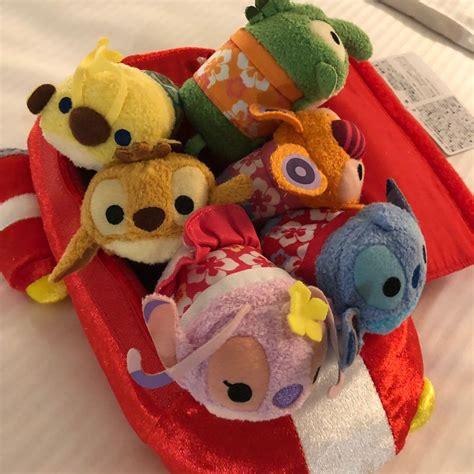 tsum po plush stitch japan disney friends