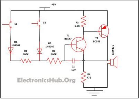 security alarm circuit eeweb community