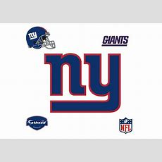 New York Giants Logo  Giant Officially Licensed Nfl