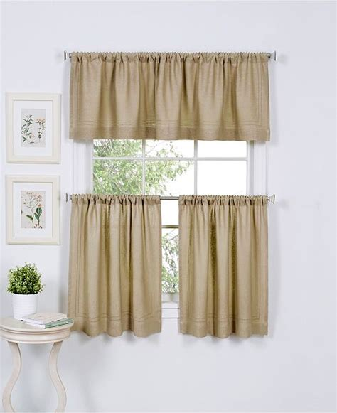 Kitchen Curtains Dollar General by Elrene Cameron Kitchen Curtains Macy S