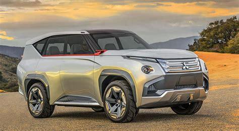 2018 Mitsubishi Pajero New Concept, Release Date