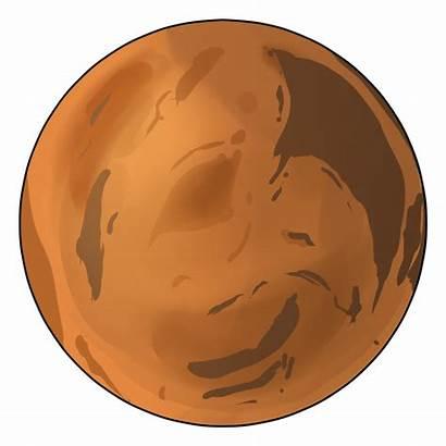 Mars Clip Clipart Planet Martian Planets Transparent