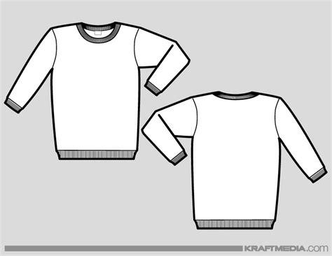 sweater template crewneck sweatshirt template fashion ql