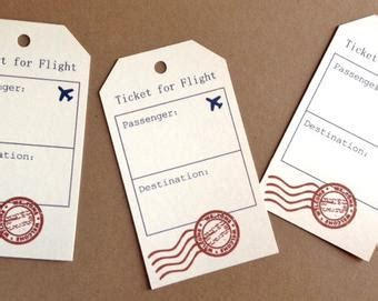 travel escort tag template popular items for travel place cards on etsy
