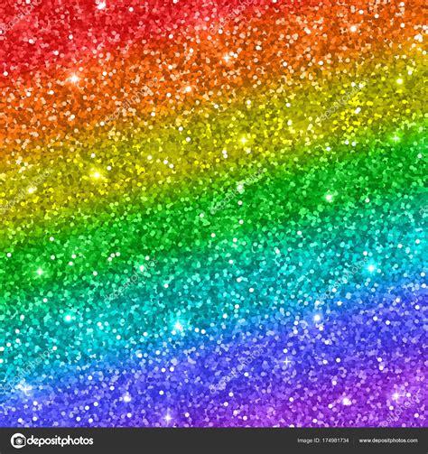 rainbow glitter background vector stock vector  lava