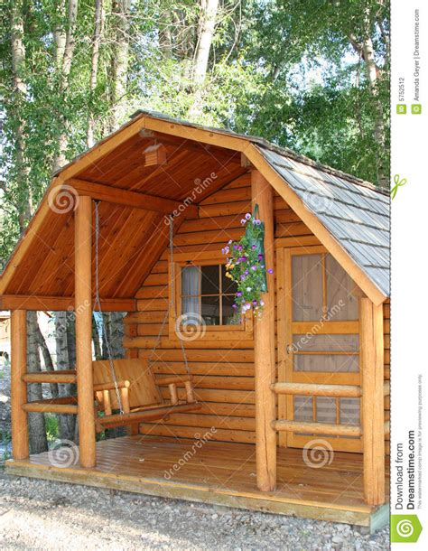 small wood cabin stock photo image  home vacation