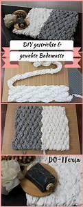 Teppich Selber Weben : handgestrickte und selbstgewebte badematte do iteria diy projekte pinterest stricken ~ Orissabook.com Haus und Dekorationen