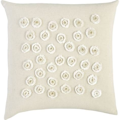 lonnie 16 quot pillow in decorative pillows crate and barrel