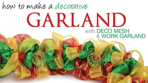 how to make mesh garland with lights party ideas by mardi gras outlet christmas deco mesh