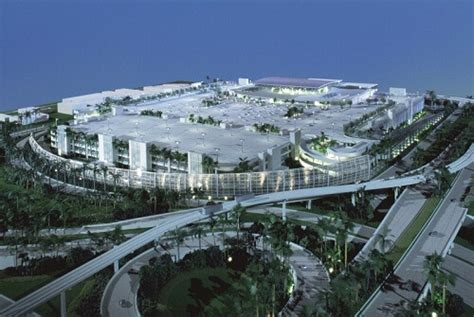 Rental Car Of Miami by New Miami Rental Car Center Is Leap Forward