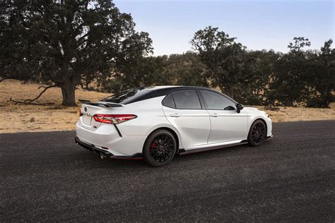 toyota camry trd   sportiest version   mid