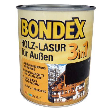 Lasur Für Holz by Farbenwelt Wimmer Bondex Holz Lasur F 252 R Aussen 3in1