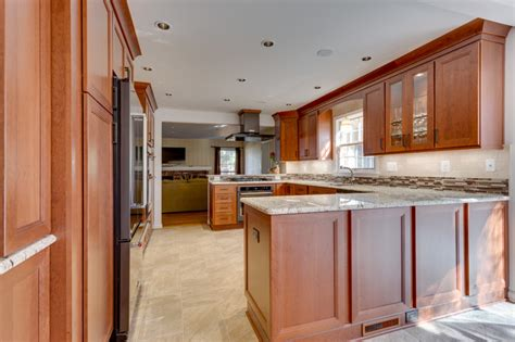 Reico Cabinets Springfield Va by Woodharbor Provence Cherry Kitchen Cabinets By