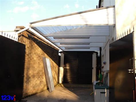 small cantilever carport  oxford uk  plc