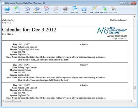 Calendar And Facility Management
