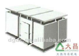 chambre froide solaire préfabriquée chambre froide de réfrigération unité à l