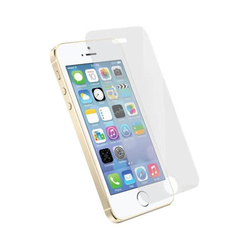 iphone 5s screen protector orzly premium tempered glass screen protector for iphone