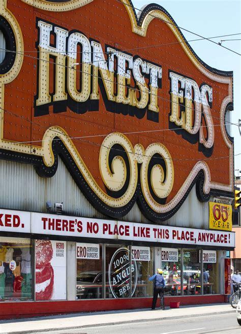Honest Ed's sign too damaged to save   Toronto Star