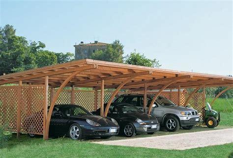 copertura tettoia economica foto costruire una tettoia di legno lamellare per auto