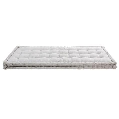 materasso 90x190 materasso gaddiposh in cotone grigio 90x190 cm celeste