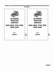 Ford 5640  6640  7740 Tractor Service Manual