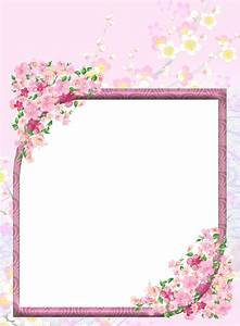 Pink Transparent Flowers PNG Photo Frame | Frames ...