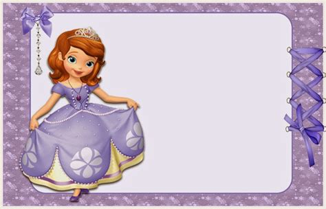sofia the free invitation templates sofia the free printable invitations or photo frames oh my in