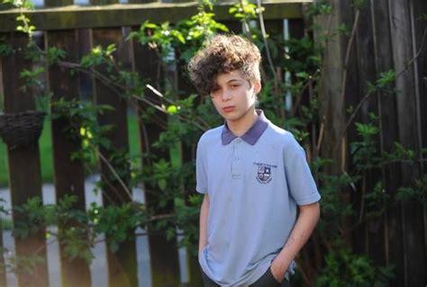 schoolboy  kicked   school