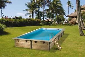 Piscine Bois Ubbink : piscine bois ubbink linea rectangulaire en kit ~ Mglfilm.com Idées de Décoration