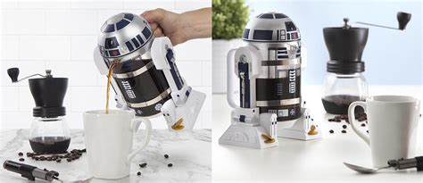 Star Wars R2-D2 coffee press is the preorder your morning ...