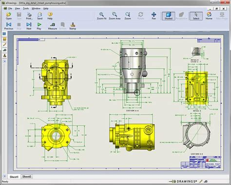 cad viewer solidworks  drawings overview