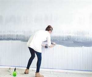 Dunkle Farbe überstreichen : wandgestaltung selber machen mit farben muster streichen ~ Lizthompson.info Haus und Dekorationen