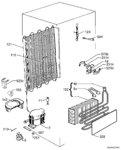 Indesit Refrigerator Wiring Diagram by Electrolux Enn28600 92577174302 Fridge Freezer Cooling