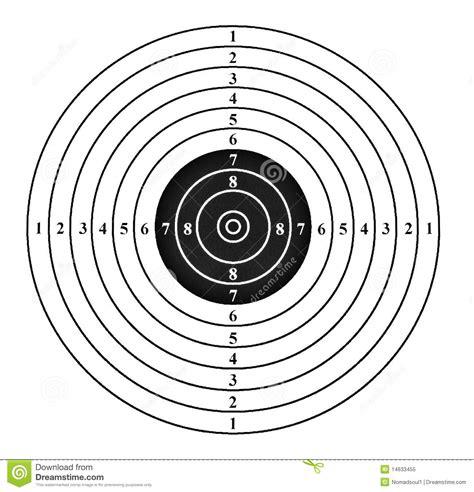 shooting target royalty  stock photo image