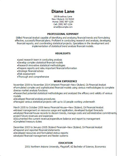 finance resume templates  impress  employer livecareer