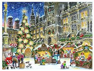 1 Advent München : 30 best adventskalender st dte motive images on pinterest ~ Haus.voiturepedia.club Haus und Dekorationen