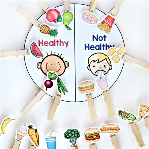 nutrition ideas for preschoolers food and nutrition activity pack stay at home educator 149