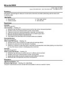 sample floral designer resume