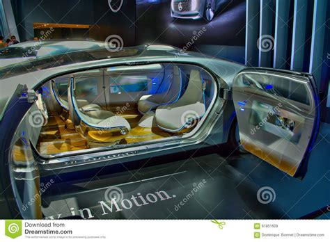 Mercedes F015 In Japan Editorial Stock Image. Image Of