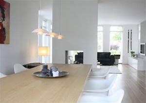 Moderne Esszimmer Lampen : modernes herrliches haus design in den niederlanden gelegen ~ Markanthonyermac.com Haus und Dekorationen