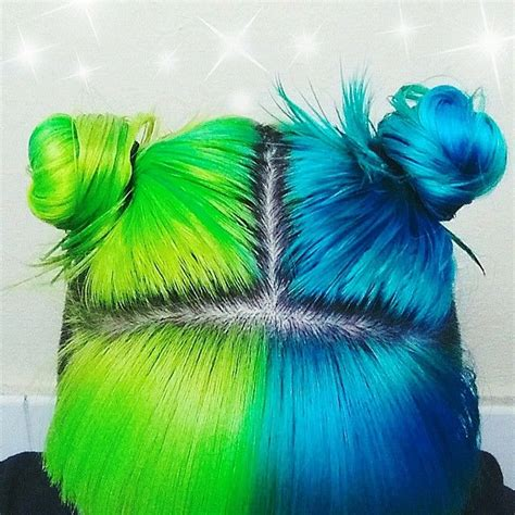 Best 20 Half Dyed Hair Ideas On Pinterest