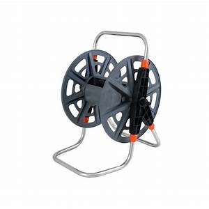 50m Hose Reel Manual Winding Portable Garden Reels