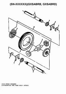 Differential And Rear Axle  Hydro  Diagram  U0026 Parts List